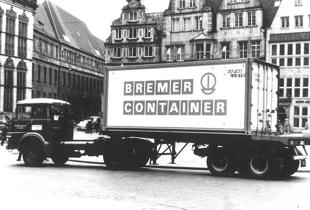 Bremer Container Truck Retro